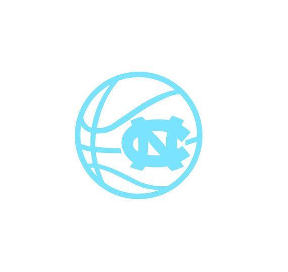 Nc university of north carolina basketball decal