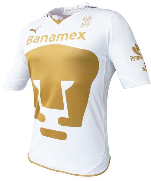 Los tres uniformes de los Pumas de la UNAM  temporada 2010-2011 ... 4fe92cea4a88e