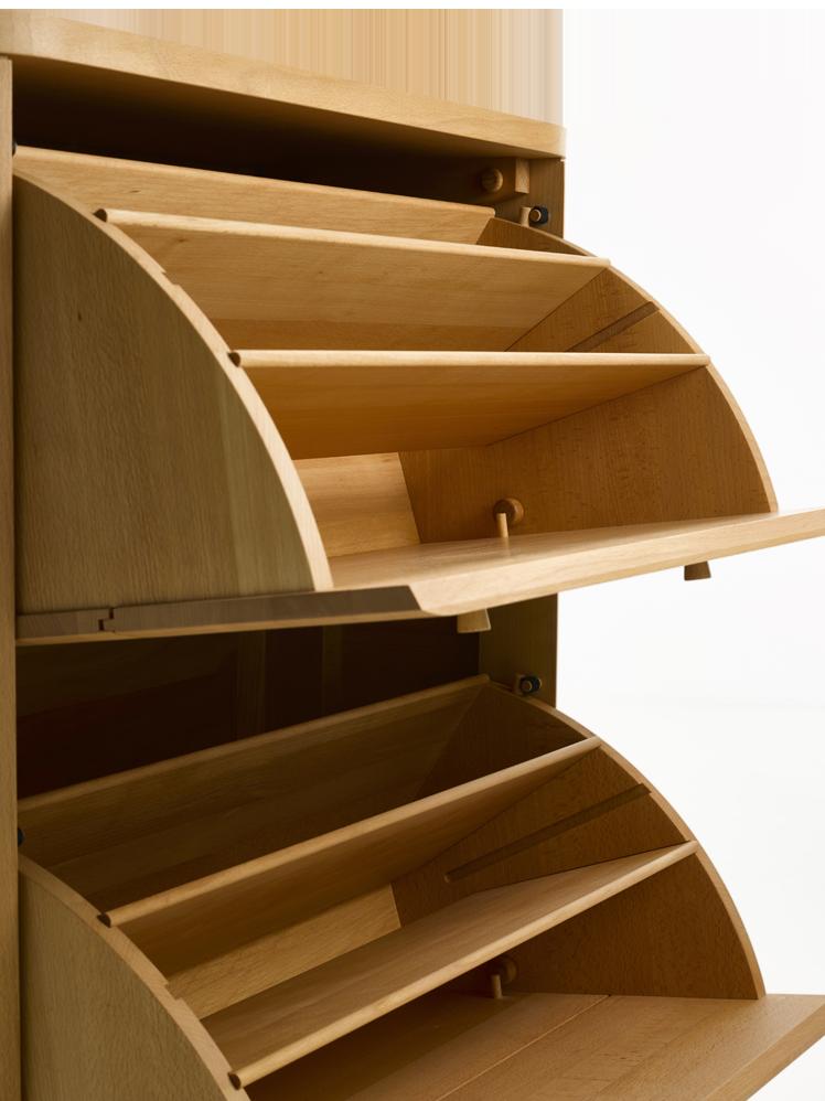 Schuhschrank Tonda Schuhschrank Schrank Holzbearbeitung Handwerk