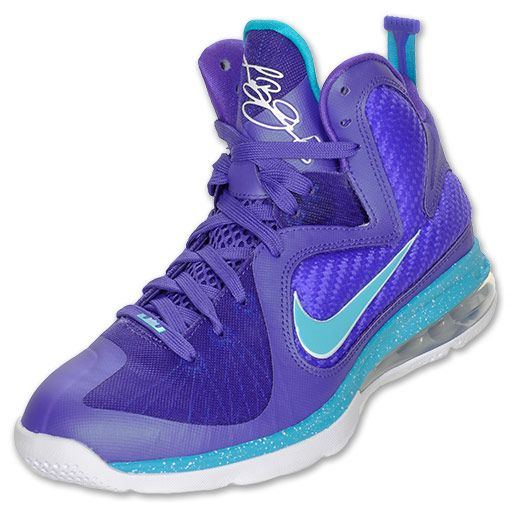 best website fe6e2 16490 Nike LeBron 9 Men s Basketball Shoes   FinishLine.com   Pure Purple Turquoise  Blue White