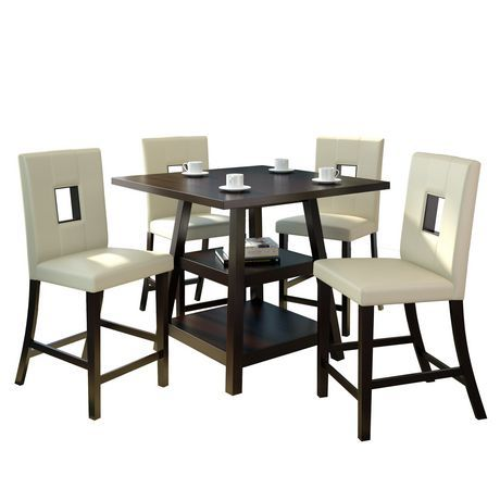 Dining Table 1393w 48 At Walmart Ca With Images Round Dining Table Sets Round Dining Table White Round Dining Table