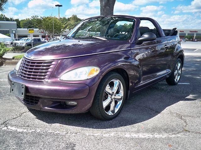 Purple Convertible Chrysler Pt Cruiser Chrysler Pt Cruiser Pt