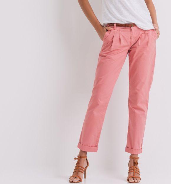 Un pantalon rose décontracté et féminin pour le printemps : http://ptilien.fr/r44b