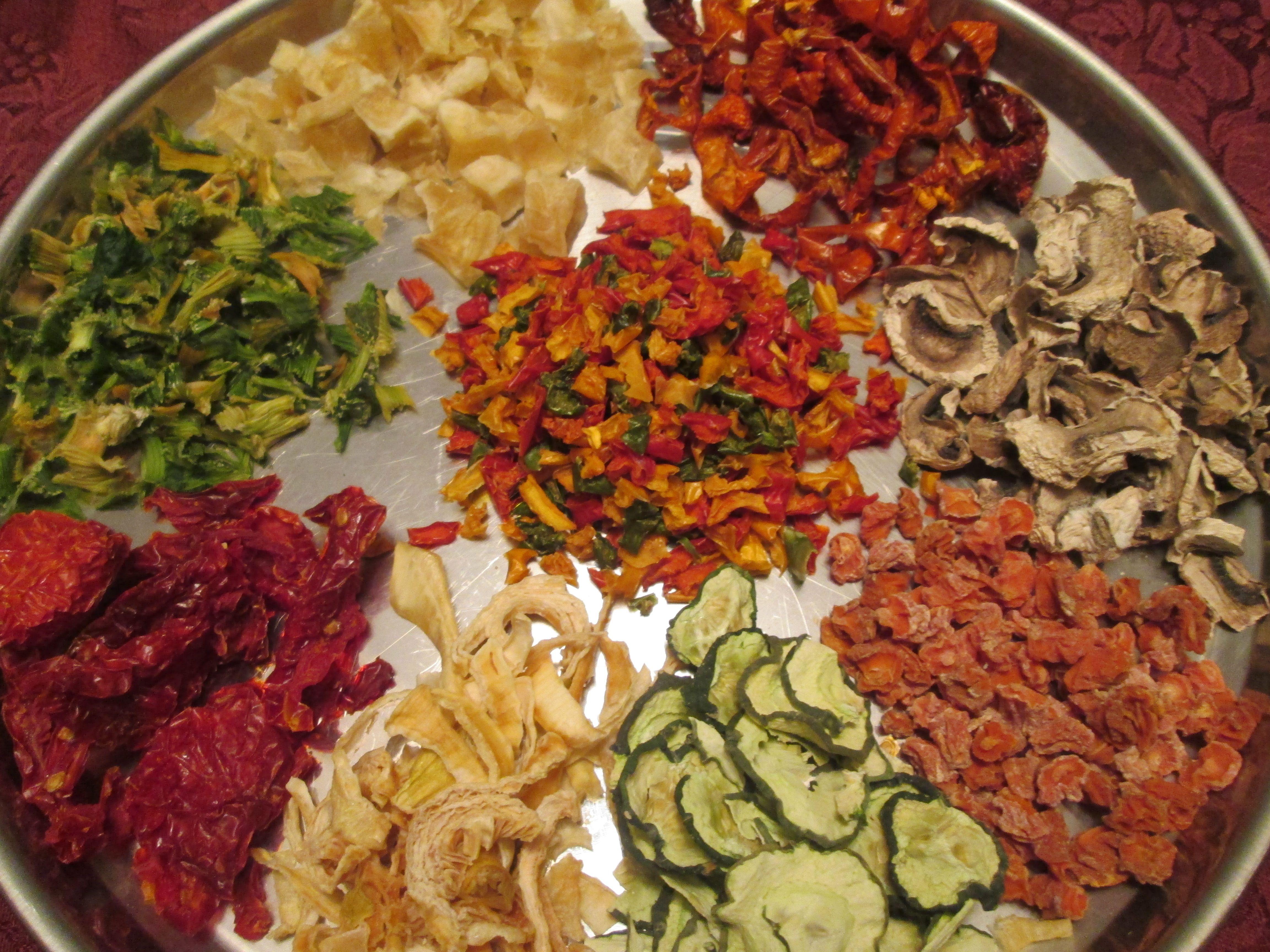 Dehydrating Vegetables Favorite Recipes Dehydrator