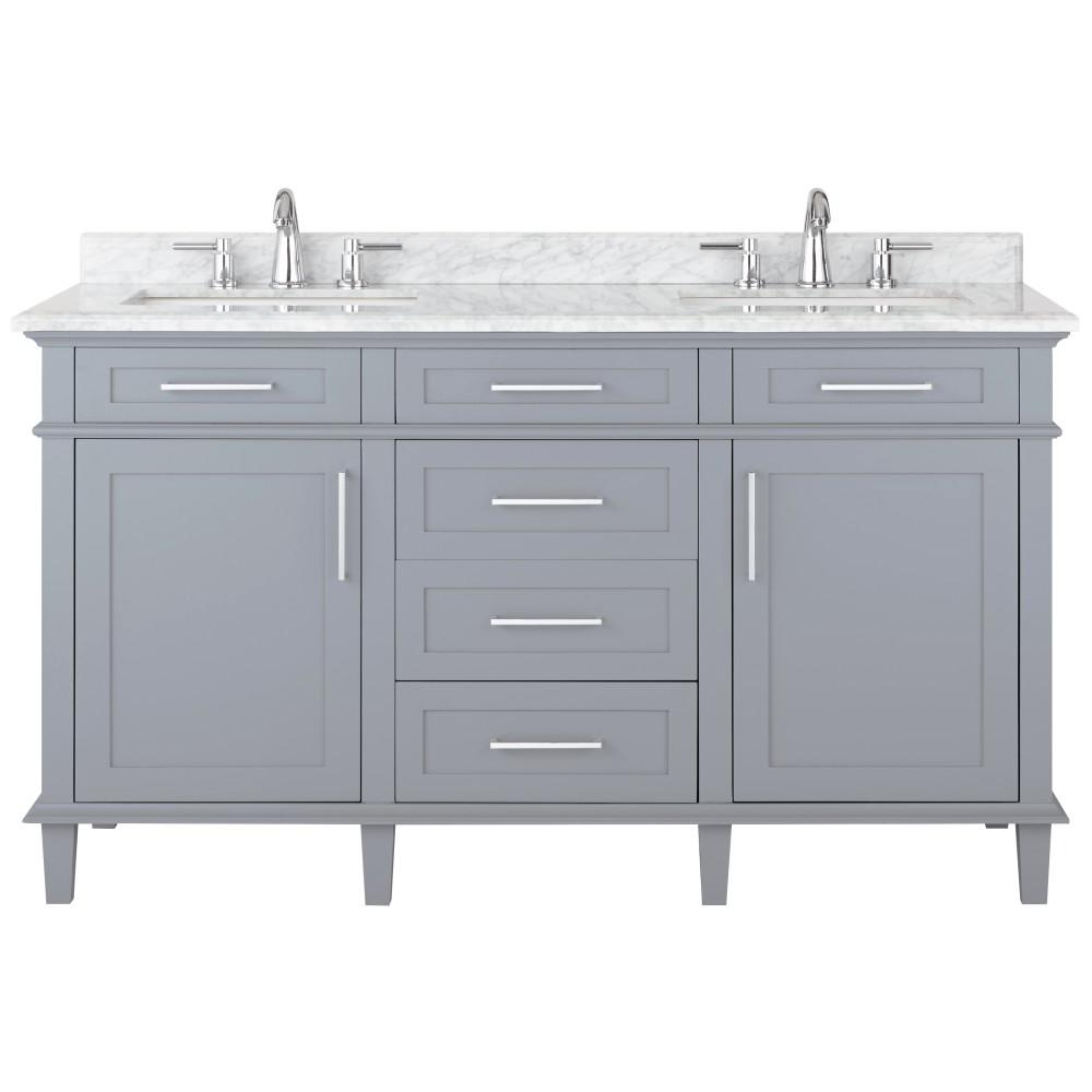 Home Decorators Collection Sonoma 60 In W X 22 In D Vanity In