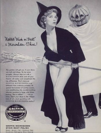 Griffin Microsheen Boot Polish..OMG their ad were soo sexist!