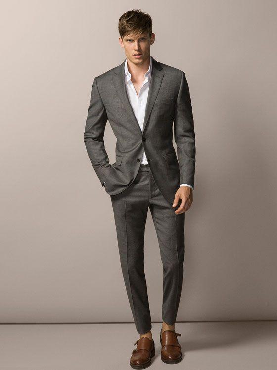 massimo dutti costume carreaux prince de galles mode homme pinterest mode homme. Black Bedroom Furniture Sets. Home Design Ideas