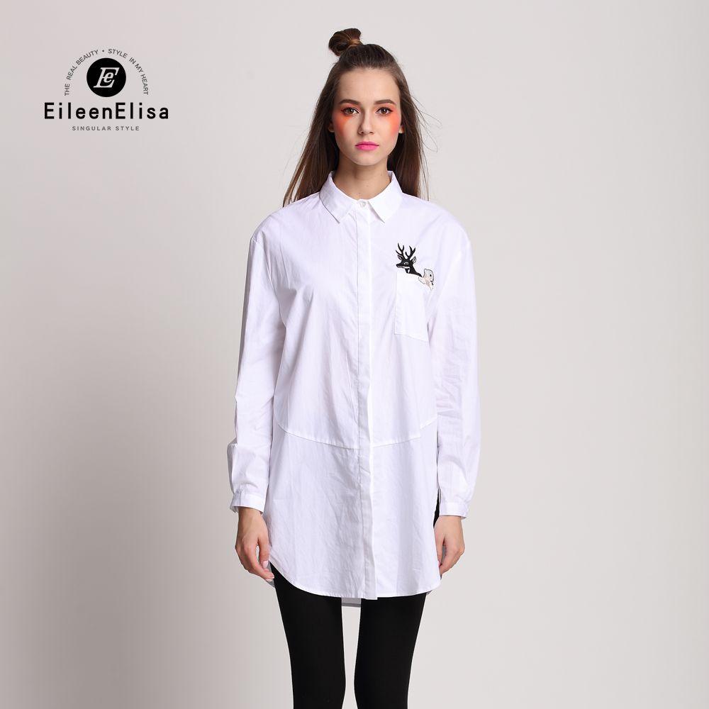 Runway Blouse Dress2017 Women High Quality Fashion Long White ...
