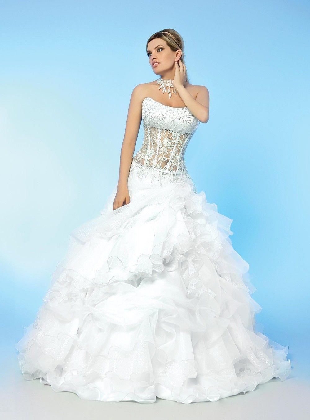 See through corset wedding dresses  see through ball gowns wedding dresses  barbie dresses u stuff