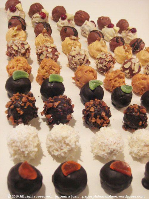 grown-up rice krispie treats - Christmas goodies.??  ;)))