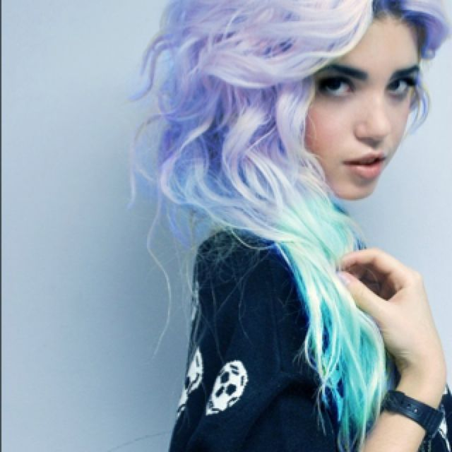 I Want My Hair To Fade Into That Purple At The Bottom Or Maybe