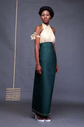 """Daltimore creates an effortless mix of colours for new Spring/Summer 2016 Collection tagged 'Earthed'. Taking inspiration from colours and """"grounded earth"""" the brand owned by Omigie David  who doubles as the head designer fused teal and earth tones for fluid and easy to wear designs, with layering forming an interesting take on the different designs in the collection."""