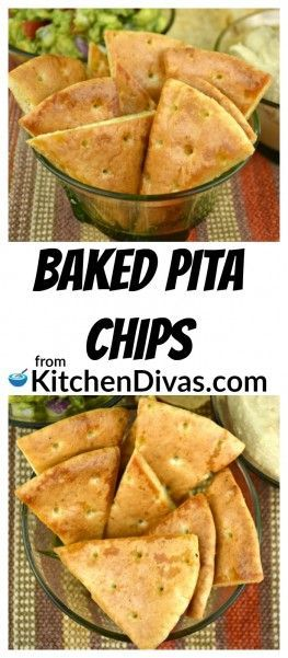 Pin by Valentina K. Wein (CookingOnTheWeekends) on Blogger Recipes Baked pita chips Appetizer