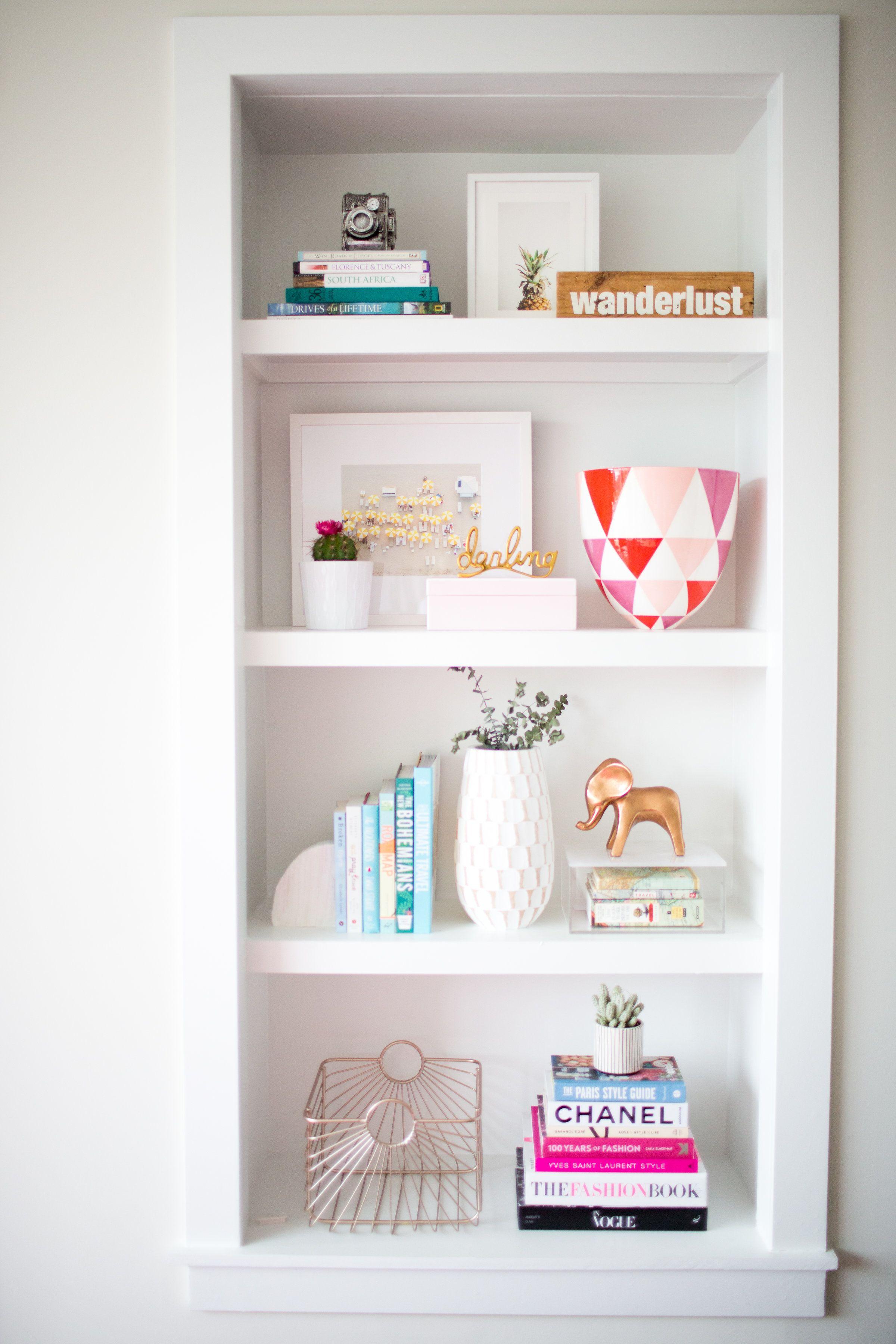 Home Styling Shelf Decor Bedroom Bookcase Decor Bookshelves In