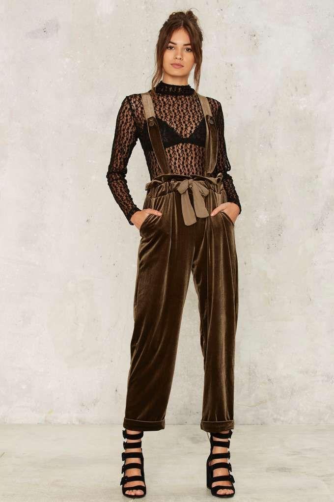 11e45054de75 Nasty Gal Toulouse Suspender Pants - Clothes