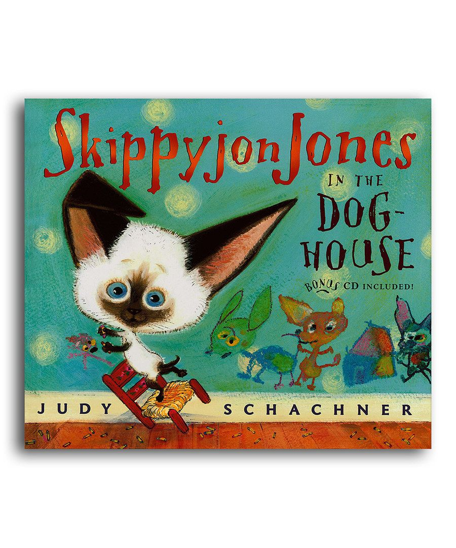 Skippyjon Jones In The Dog House Hardcover Skippyjon Jones Dog