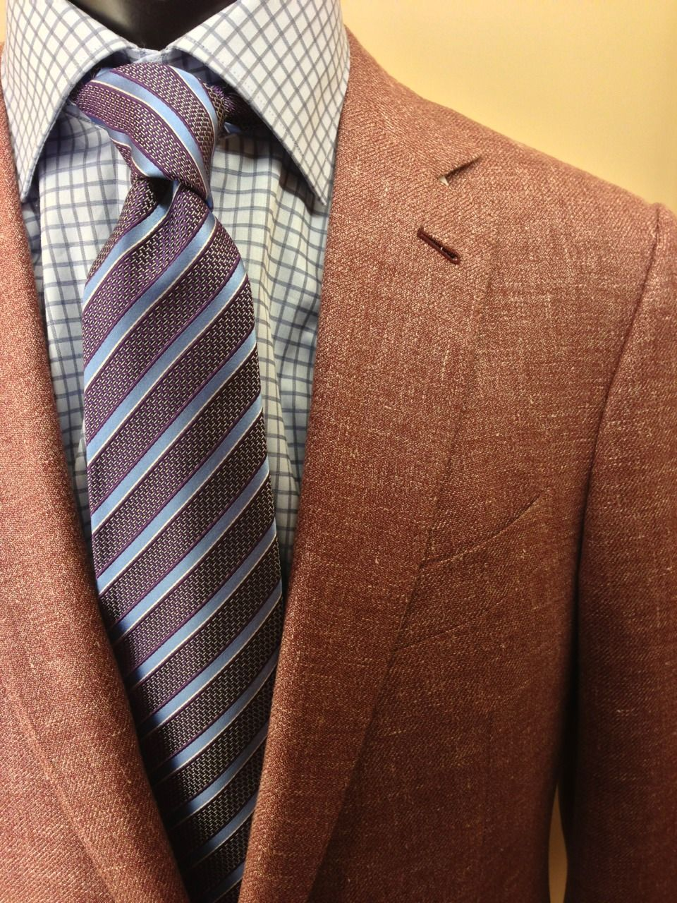 66c518ee Perfect Portland piece! Rose colored Zegna sport coat in cashmere ...