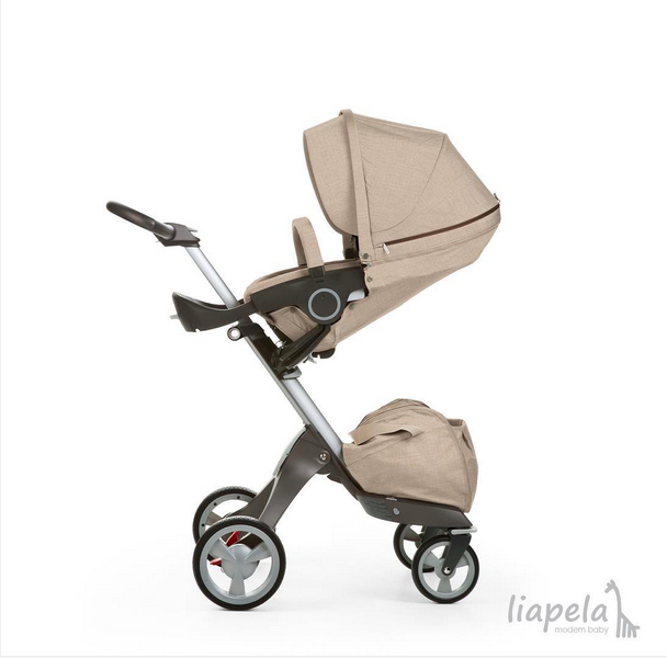 Stokke Xplory Beige Melange available at Liapela.com (US)$1099 Like on Instagram @LiapelaModernBaby