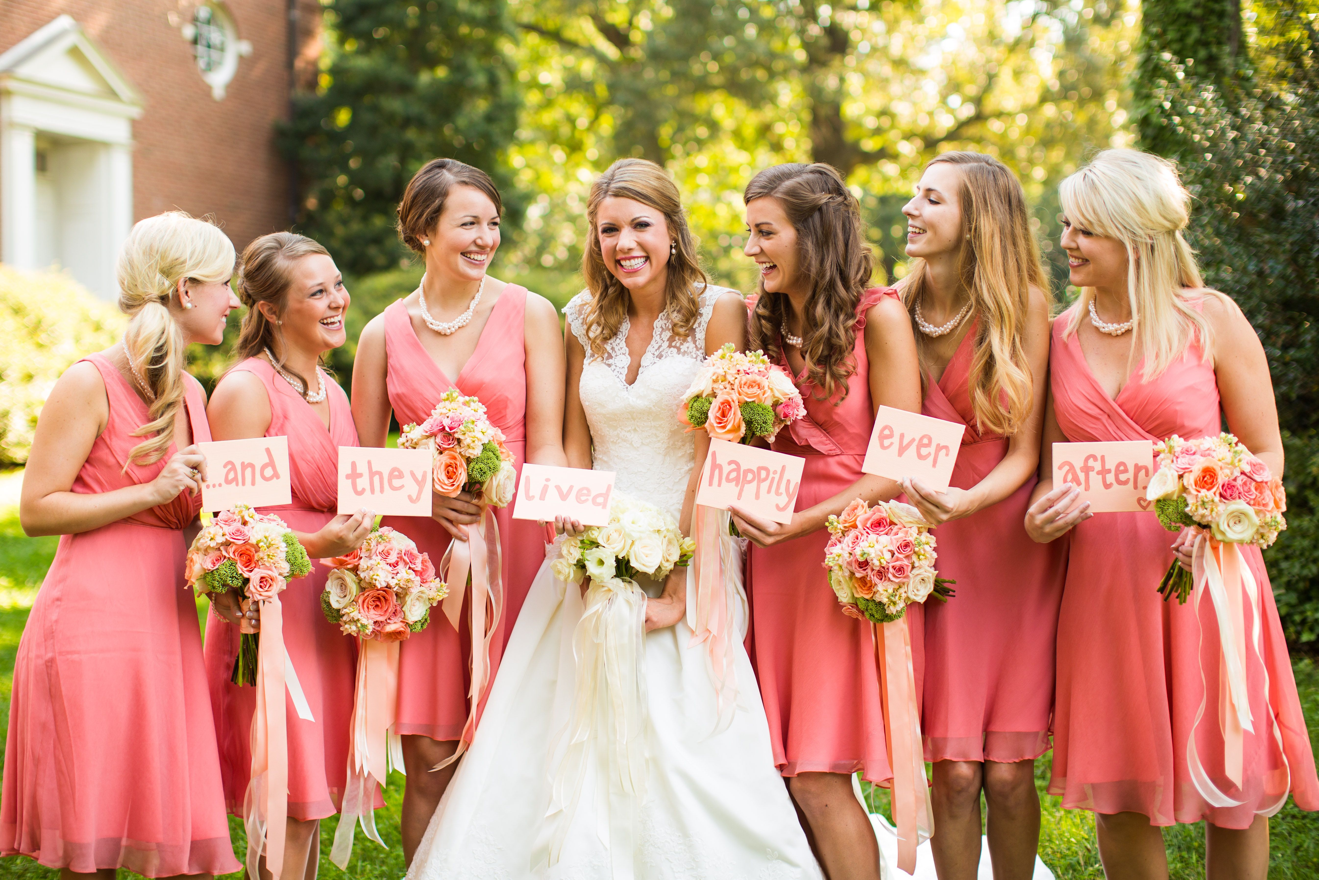 Funny unique silly bridesmaid photo guava bridesmaid dresses from funny unique silly bridesmaid photo guava bridesmaid dresses from davids bridal my wedding at tivoli too pinterest wedding and weddings ombrellifo Gallery