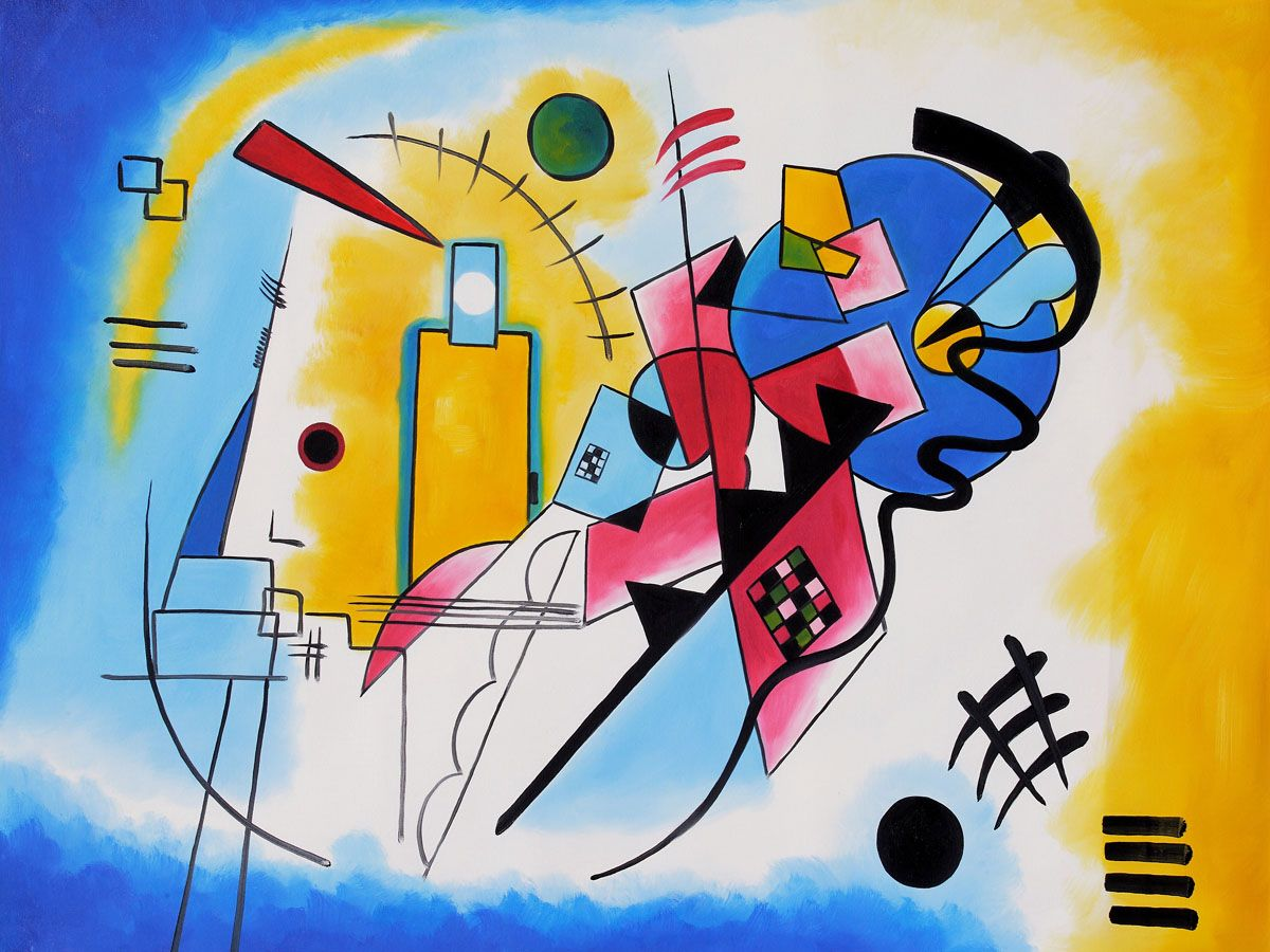 kandinsky paintings names - HD1200×900