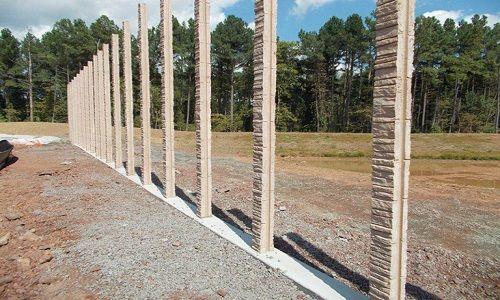 Concrete Fence Walls Superior Concrete Products Inc Concrete Fence Panels Precast Concrete Concrete Fence