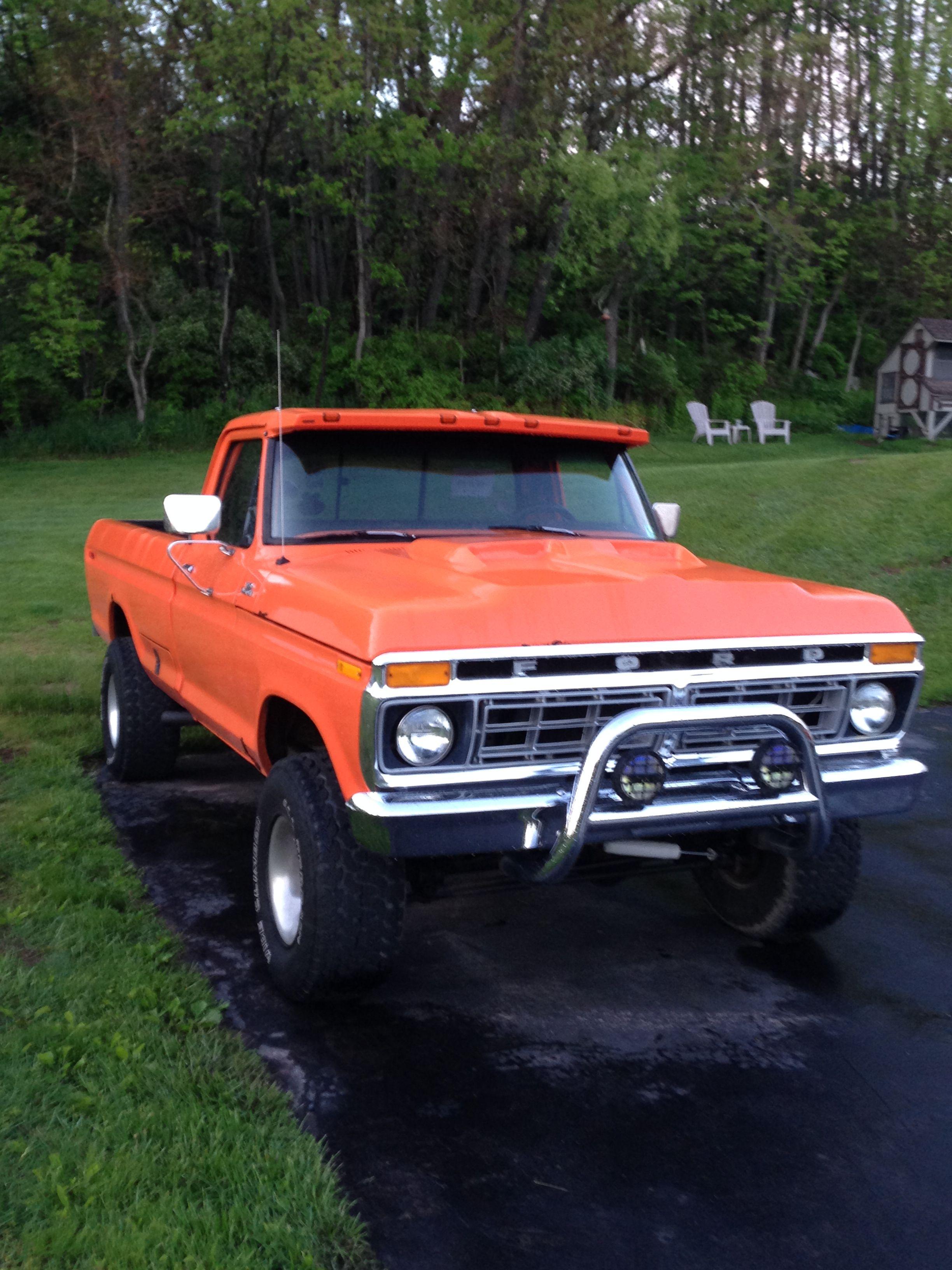 1973 ford f100 the big boy mnie ford trucks 1979 ford truck ford rh pinterest com