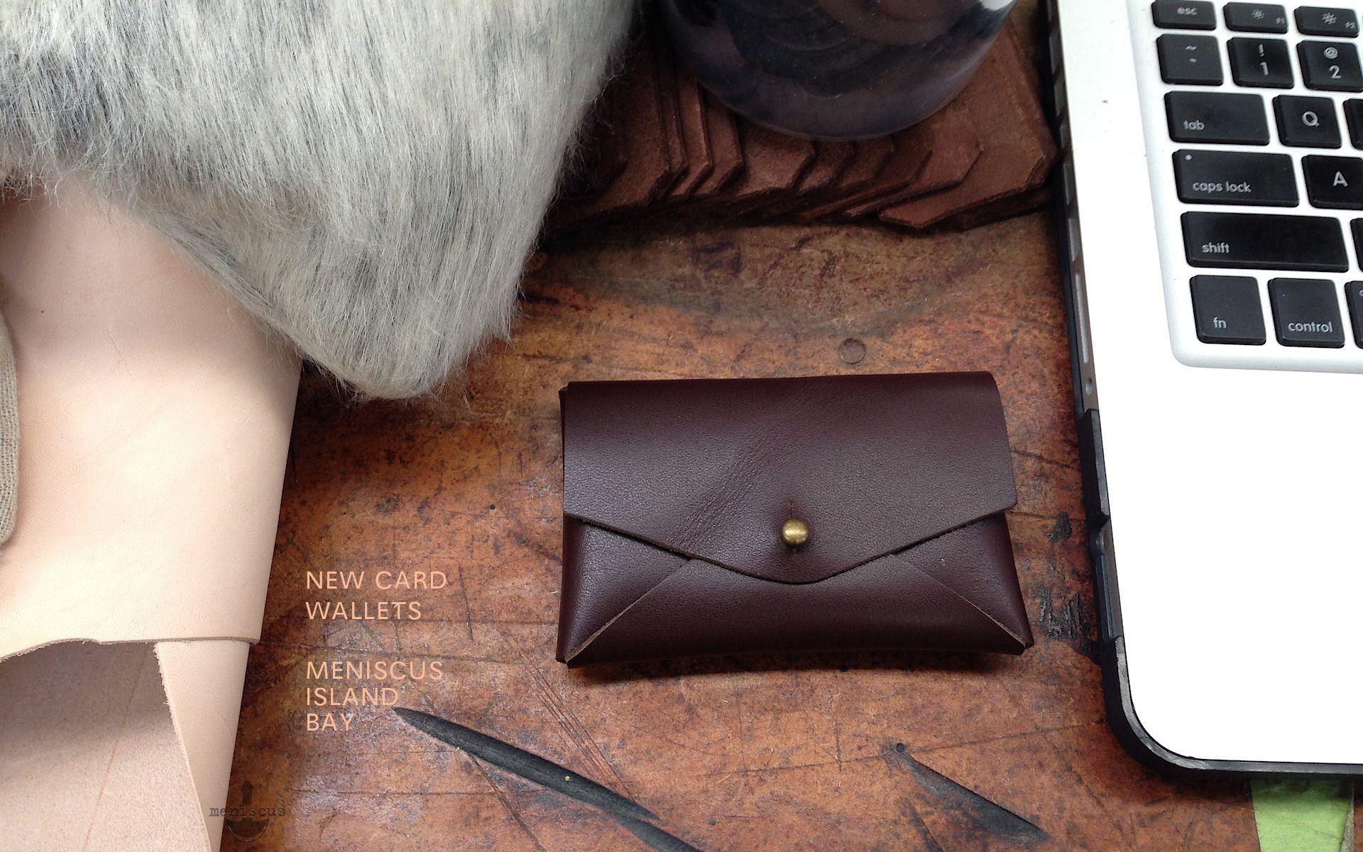 SIDEKICK WALLET Meniscus Leather Goods NZ | Leder