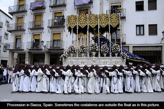 Image result for holy week processions spain