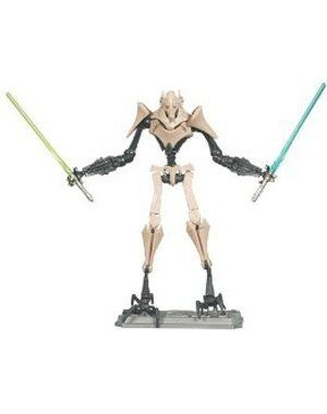 Star Wars 2010 Clone Wars Animated Action Figure Cw No 10 General Grievous By Hasbro 14 85 Galactic Battle Game Card Bat Battle Games Die Games Clone Wars