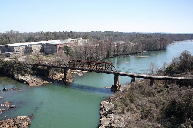 Old Tallassee Mills Bridge Favorite Places Sweet Home Alabama River