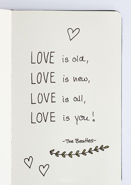 Love is | Handlettering zitate, Handlettering quotes ...