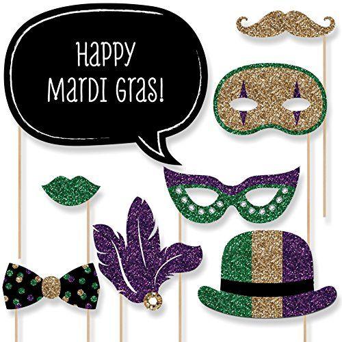 Mardi Gras - Mardi Gras Photo Booth Props Kit - 20 Count Big Dot of Happiness http://www.amazon.com/dp/B01AGRCA0E/ref=cm_sw_r_pi_dp_7e15wb0XMEJQB