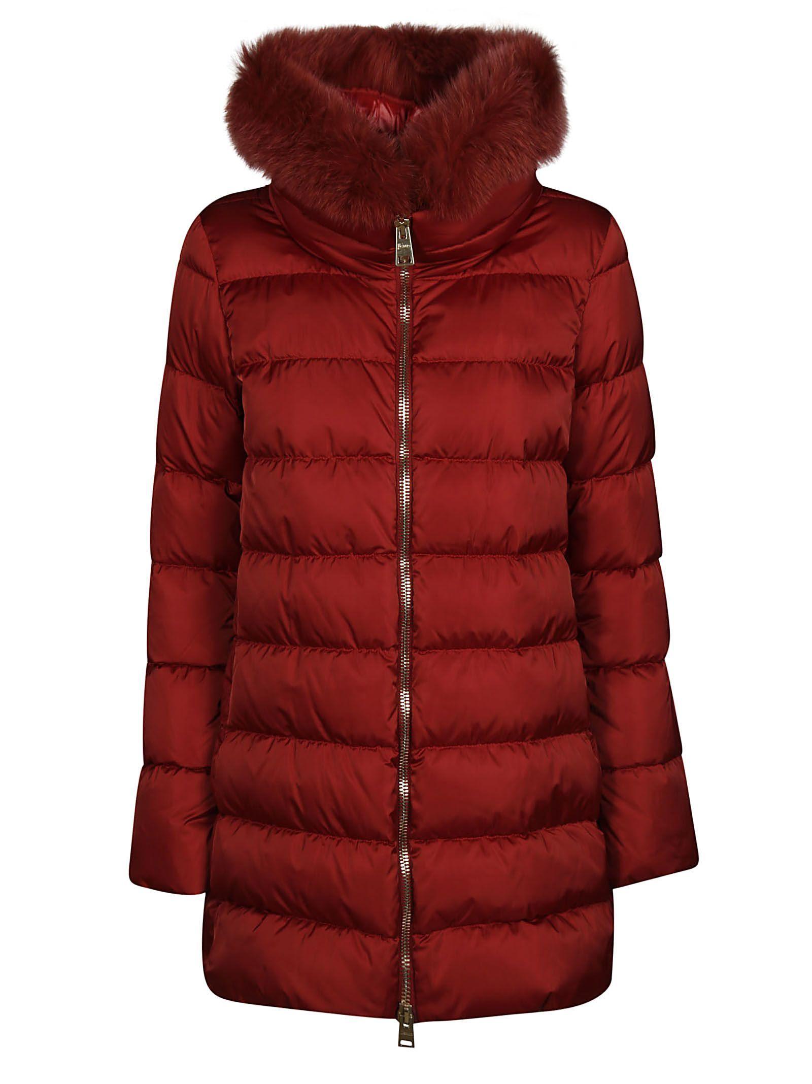 HERNO FUR TRIM HOODED COAT. #herno #cloth | Herno, Coat, Fur