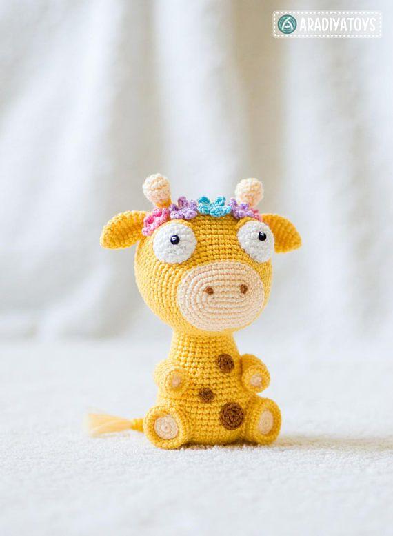 Crochet Pattern of Giraffe Ellie from \