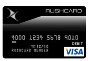 Rushcard Prepaid Visa Card Login Online Prepaid Visa Card Visa
