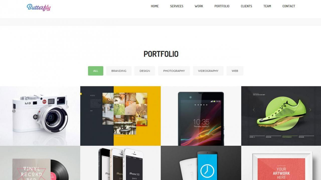 A great free Bootstrap template from: W3Goods Use this template as a ...