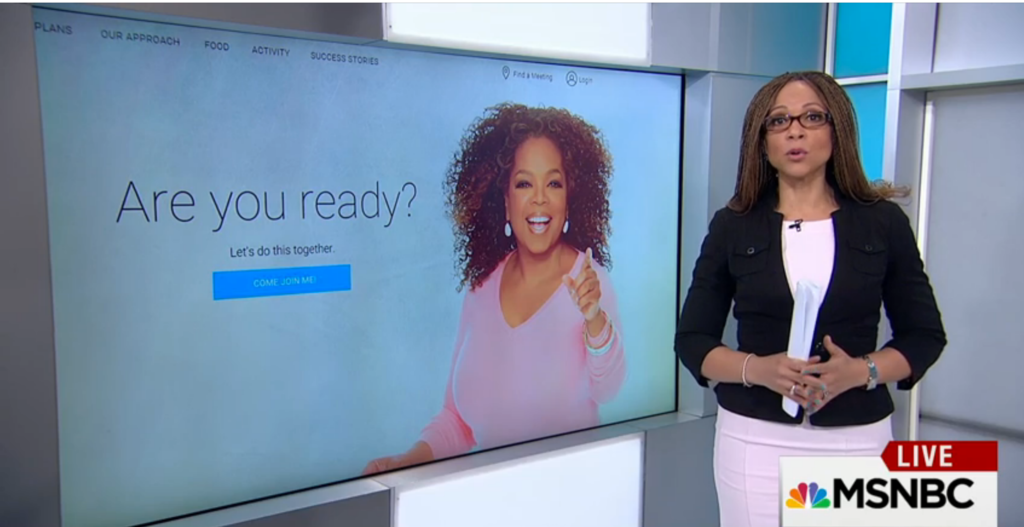 Melissa Harris-Perry Makes a Great Point About Oprah's Weight Watchers Campaign