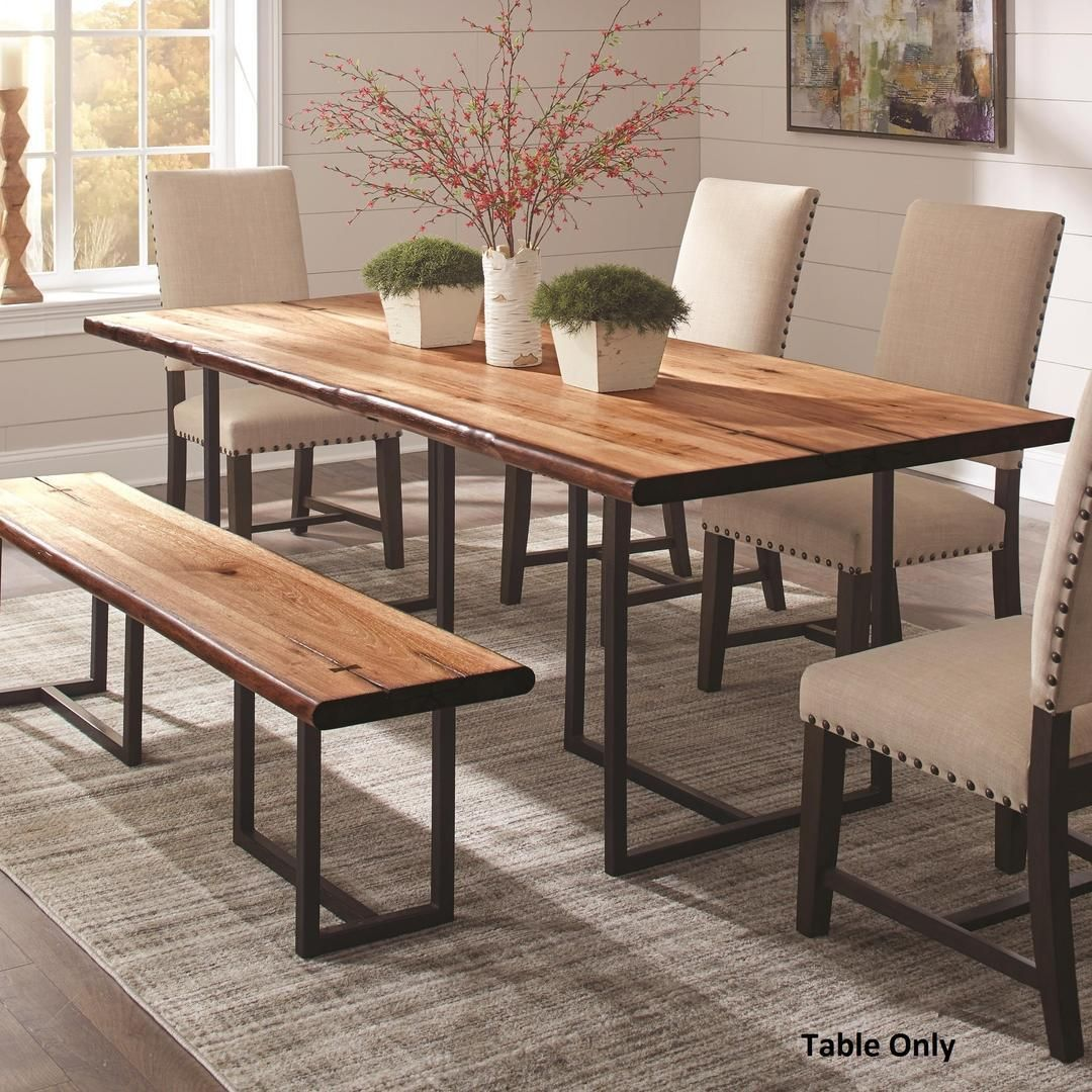 Suthers Collection 107771 90 Dining Table With Antique Black