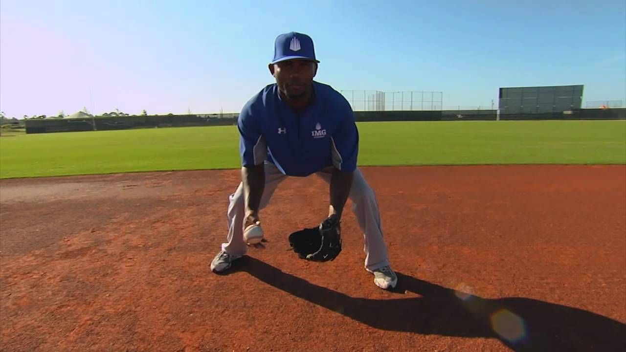Basic Shortstop Footwork Middle Infield Series By Img Academy Baseball Baseball Program Baseball Softball Drills