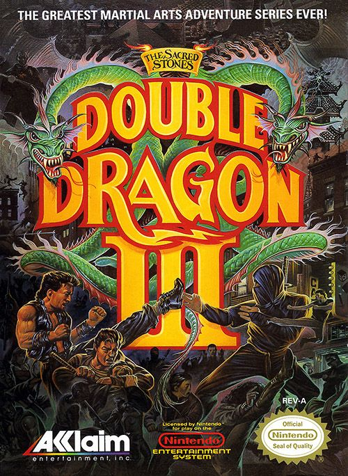 Play Double Dragon 3 The Sacred Stones Online FREE NES