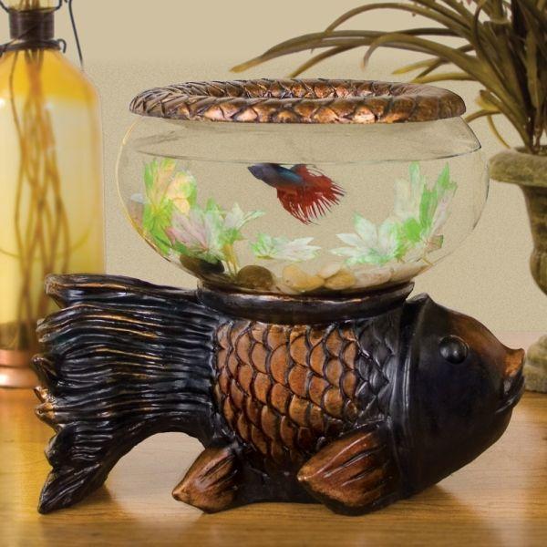Betta Art Decorative Fish Bowl Brilliant Fish Bowl Table  Google Search  Entryway  Pinterest Inspiration Design