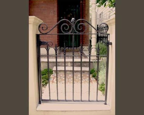 Traditional Victorian Front Gate Reproductions Wrought