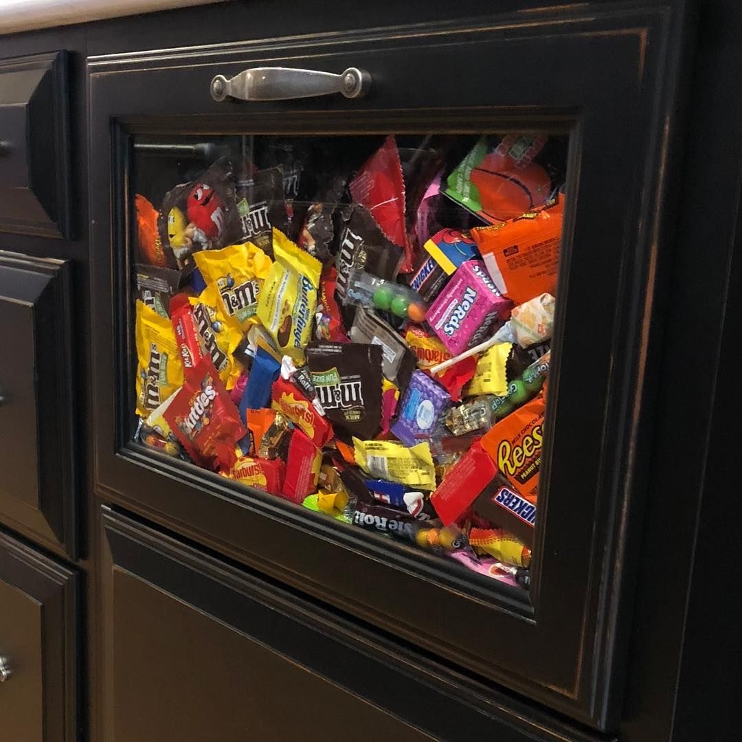 Mission drawer is full. candydrawer