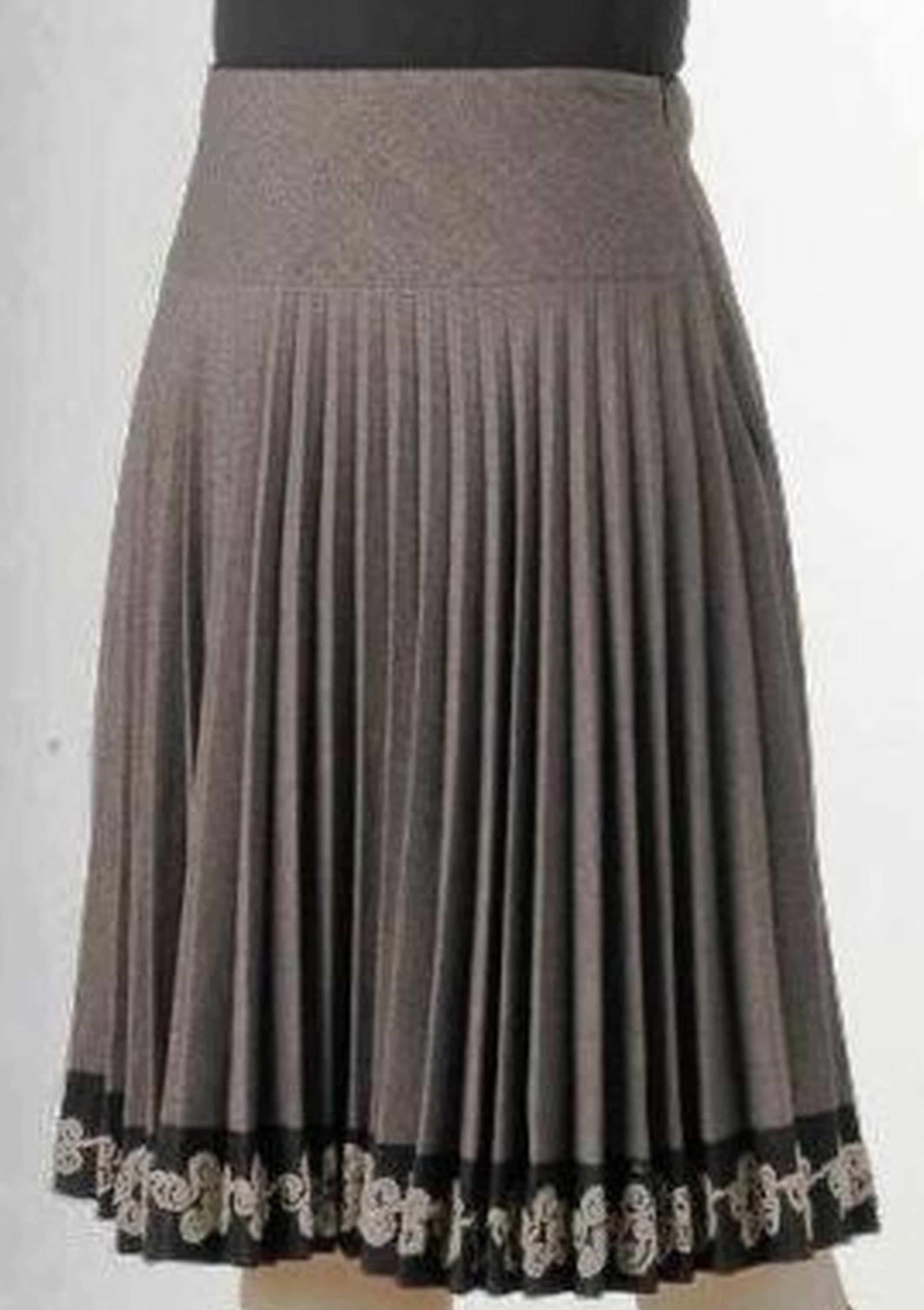 Фото модели юбки-плиссе с описанием. Пошаговые ...
