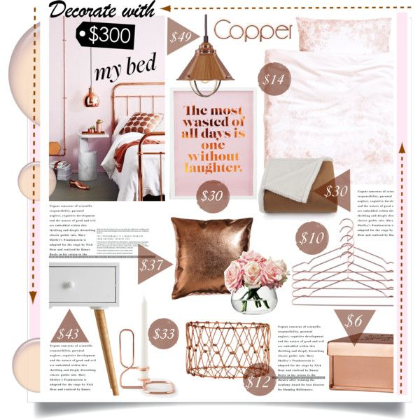Copper Blush Bedroom Decor For Less Than 300 Ideas
