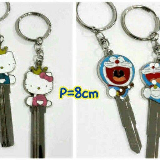 September Promo Kunci Batangan Hellokitty Doraemon Seset Isi