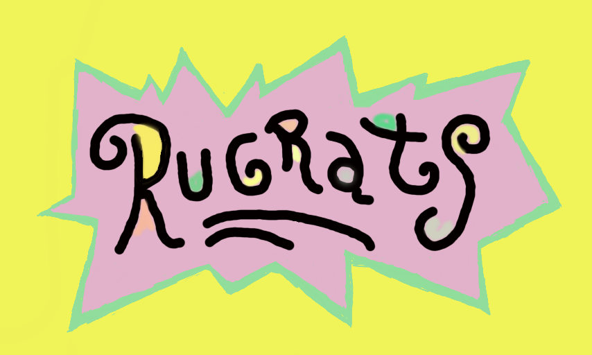 Rugrats Logo | Type | Best funny pictures, Word fonts, Logos