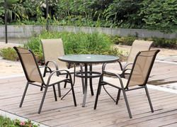 Solano 5 Piece Dining Set Patio Furniture Chairs Patio Furniture Backyard Creations