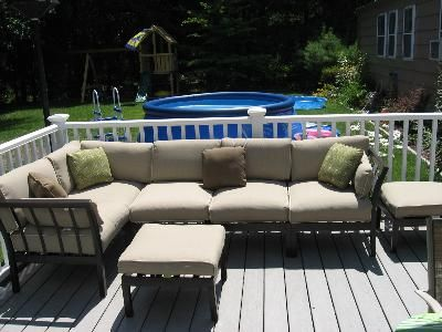 Customer Reviews Ragan Meadow 7 Piece Outdoor Sectional Sofa Set