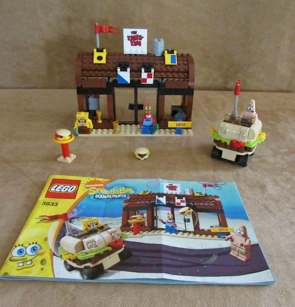 3833 Lego Spongebob Squarepants Krusty Krab Adventures